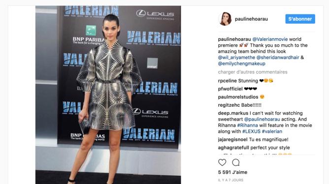 Source Instagram Pauline Hoarau