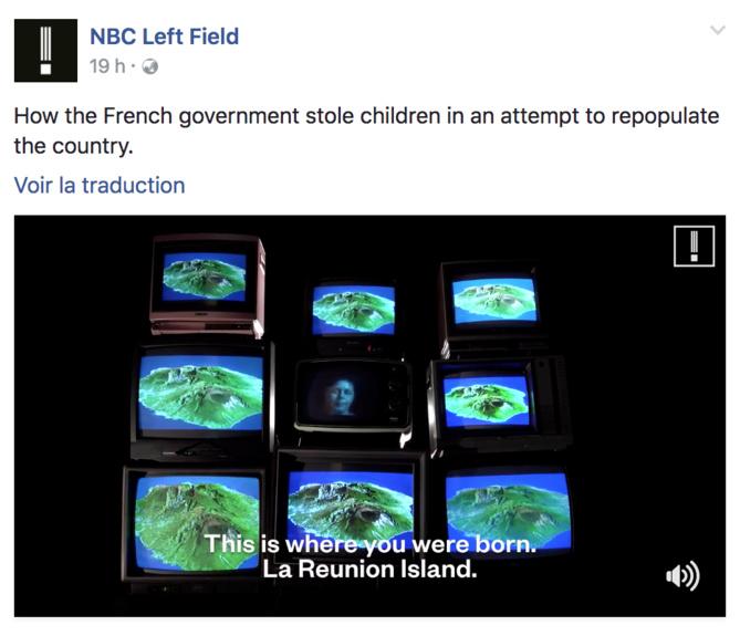 Video - La NBC consacre un reportage aux Enfants de la Creuse