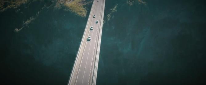 Vidéo - Le pont de l'Entre Deux comme vous ne l'avez jamais vu !