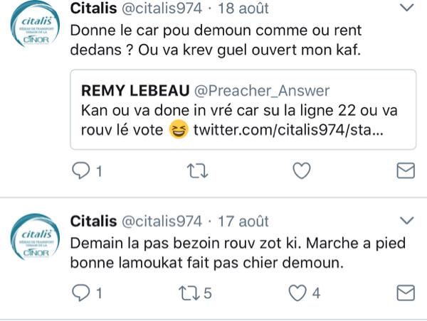 Citalis devrait recruter un community manager...