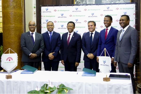Accord historique entre Air Madagascar et Air Austral