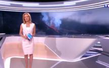Le Piton de la Fournaise à l'honneur dans le JT de TF1