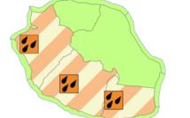 Le sud et l'ouest de La Réunion en vigilance fortes pluies à partir de 19h